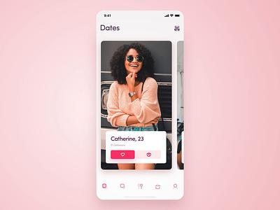 Dating & Meeting point App ux motion app animation app interface ui app mobile app dating app ios uidesign ui design