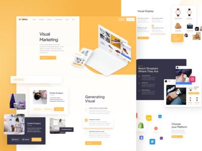 Stamped - Website Design - Visual Marketing