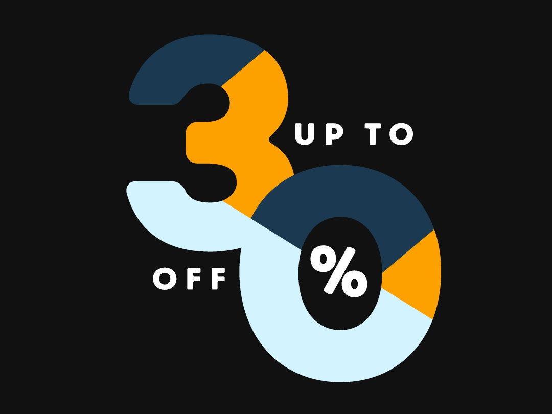 30% OFF promotion ecommece commerce sale off 30 30off