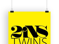 Twins logo mounted