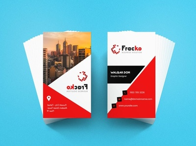Modren Fracko Business Card Template | websroad