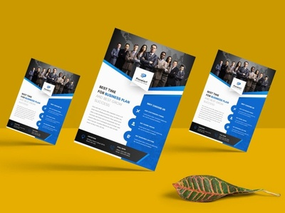 Creative PixcelArt A4 Business Flyer Template | websroad