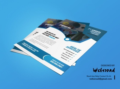 Dictate Medical Flyer Template | websroad