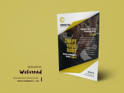 Zoxo Gym Flyer Template | websroad