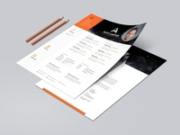Alex Creative Resume & CV Template | websroad
