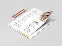 Ruber Creative Resume & CV Template   websroad