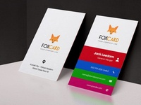 Foxcard Business Card Template | websroad