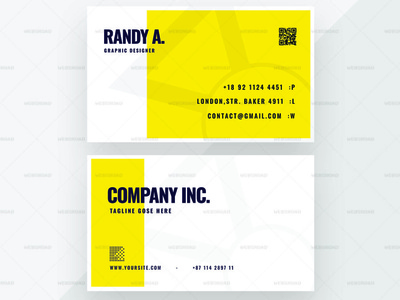 Roney Corporate Business Card Premium Template | Websroad stationery modren graphic identity brand set template busniesscard abstract vector abstract elegant namecard multipurpose busniess simple fashion marketing corporate modren branding creative clean