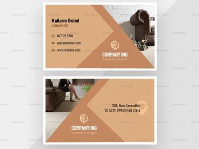 Poko – Elegant Company Business Card Premium Template | Websroad brand set minimalist elegant abstract vector abstract stylish busniesscard cool card namecard busniess multipurpose simple fashion marketing corporate modren branding creative clean