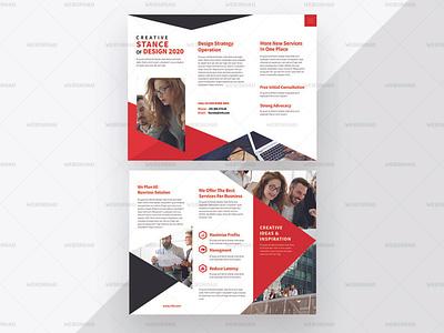Ultra | Business Tri Fold Brochure Premium Template | Websroad minimalist new brochures abstact vector abstract busniess brochure brochure trifold tri-fold design busniess multipurpose simple fashion marketing corporate modren branding creative clean