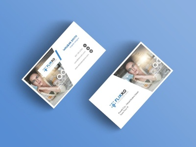 Flikko Business Card Template