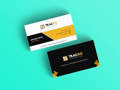Traco Business Card Template
