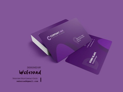 Donni Business Card Template