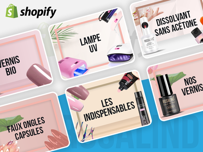Collection Banners for Shopify shopify store responsive collection banner design