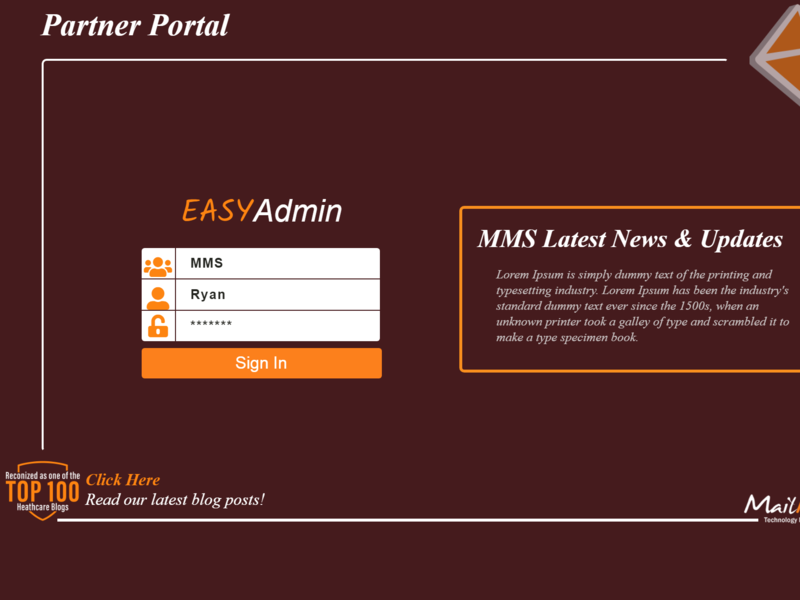 Partner Portal using html and css design by NIKHIL CHANDRA