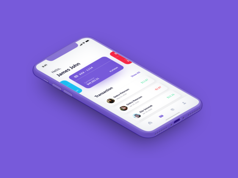 Digital Payment App Design flat mobile ux inspiration ui design payment app flat ui ui inspiration designer stark trent dailyui behance appdesign user interface design uiux ui minimal