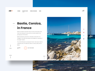Landing Page - Tours & Travel