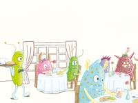 "Children's book (detail) ""Can you keep a secret?"""