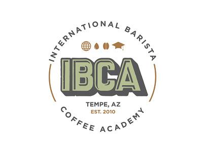 International Barista Coffee Academy logo barista coffee