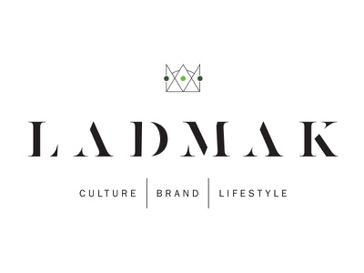 LADMAK crown king branding logo