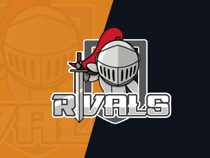 Logo for Rivals team branding design icon logo