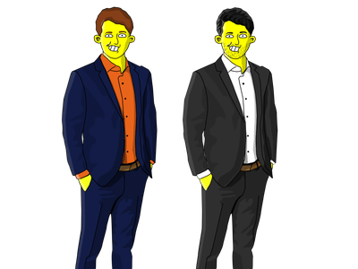 The Simpsons Character Vector İllustration vectorart vectors vector illustration ai adobe illustrator design vector illustration