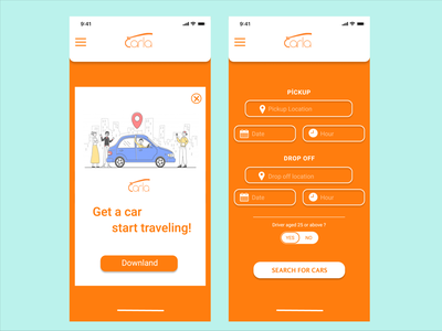 Carla Mobile App Uİ-UX Responsive Concept Re-design mobile ui redesign uxui ux design ux  ui ui̇ ui design uidesign responsive responsive design figma uiux mobile ux mobile app design ui app design