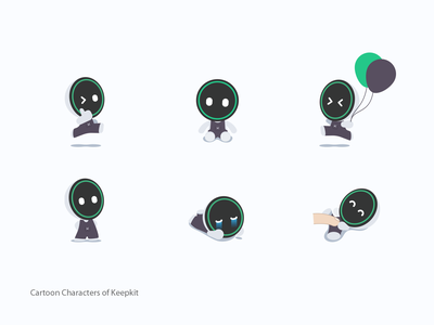 Keepkit zldesign keep emoji emoticons cartoon illustration
