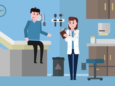 Primary Care Physician (Healthcare Animation)