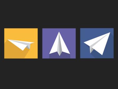 Paper Plane Icons