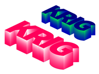 KRIG stickers