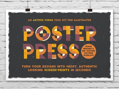 Poster Press Cover