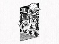 Wilderness Wardrobe Tag design