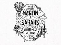 Wilderness Wedding Invite