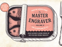 The Master Engraver - Fish Can