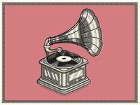 Vinatge Gramaphone