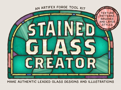 Stained Glass Creator - Cover Design