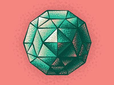Emerald vector illustrator brushes brush texture emerald gemstones gemstone gem
