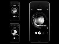 Randomize App Design - Brightness setting