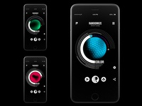 Randomize App Design - Color setting