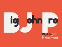 Big John PRO - FREE Font