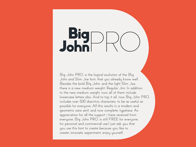 Big John PRO - Definition typography typeface motion lucin lettering ion gratis graphic free font