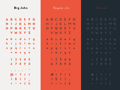 Big John PRO - Alphabet typography typeface motion lucin lettering ion gratis graphic free font