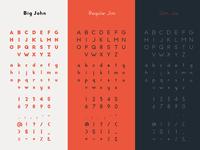 Big John PRO - Alphabet