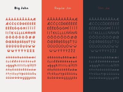 Big John PRO - Diacritics graphic app lettering randomize animation motion animated typeface typography font lucin ion