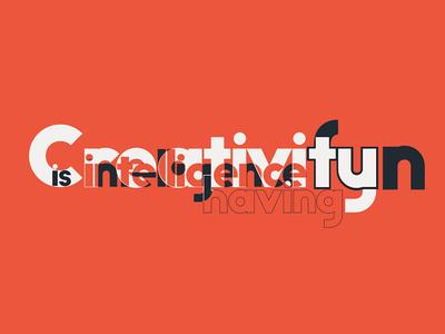 Big John PRO - Creativity is intelligence having fun typography typeface randomize motion lucin lettering ion graphic font app animation animated