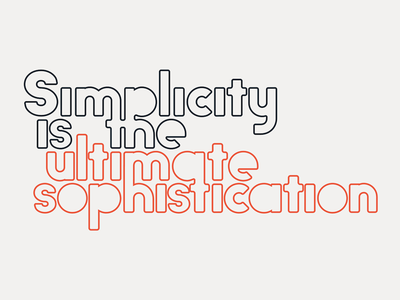 Big John PRO - Simplicity typography typeface randomize motion lucin lettering ion graphic font animation animated