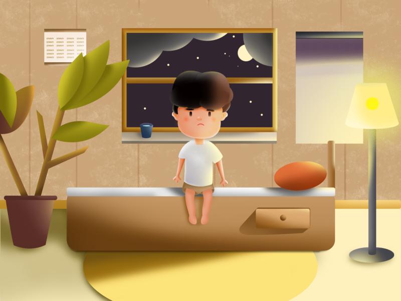 Child thematic illustration 插图