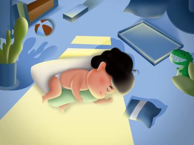 Child thematic illustration
