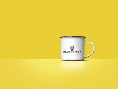 Coffee Cup minimal flat branding illustration design graphic design identity logo logo design brand identity